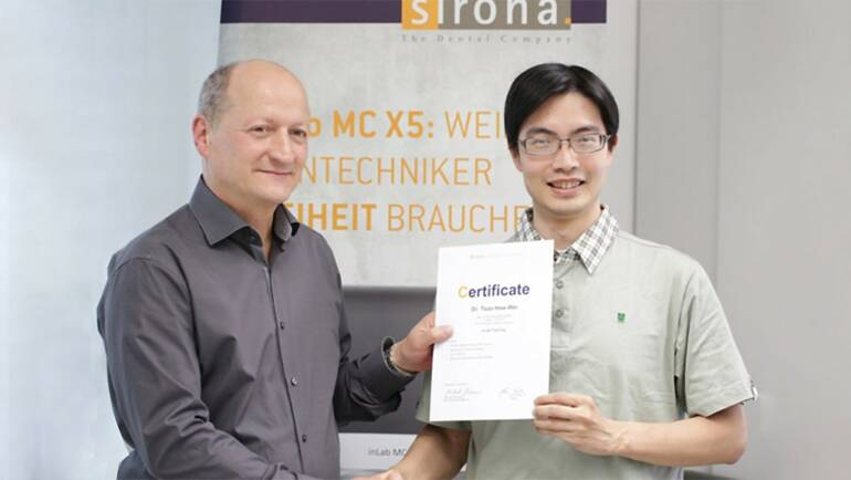 悅庭牙醫曹院長帶領醫師參觀德國「Sirona頂級數位研發中心」4日活動花絮