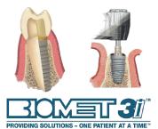 3D導引式植牙結合全瓷冠案例-知名植體品牌-三愛 BIOMET 3i